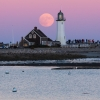 Supermoon Scituate Yacht Club