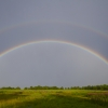 Rainbows at Bay Farm Field